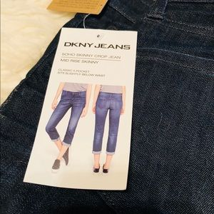 DKNYC Jeans - DKNY SOHO SKINNY CROP JEANS